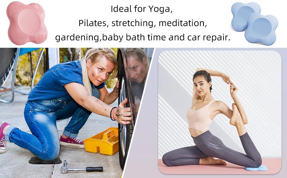 yoga kniebeschermer