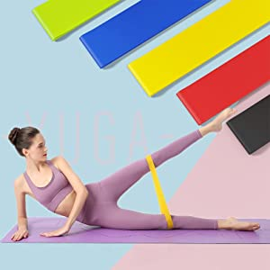yoga mat fitness mat workout exercise bands