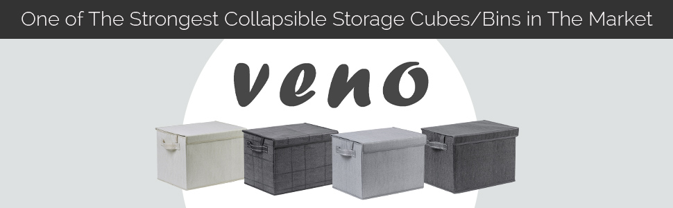 Veno Bag, Collapsible storage cubes, Collapsible storage bins