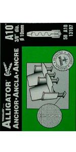 13107 Alligator Anchor TOGGLER - A10 - 50 Pack