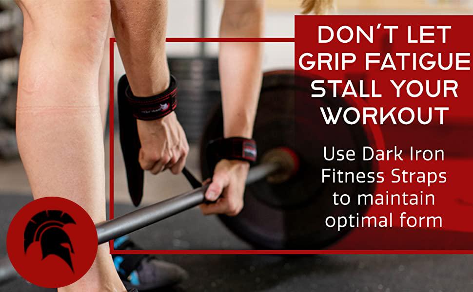 Dark Iron Fitness Wrist Wraps