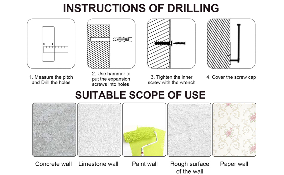 instruction of drilling