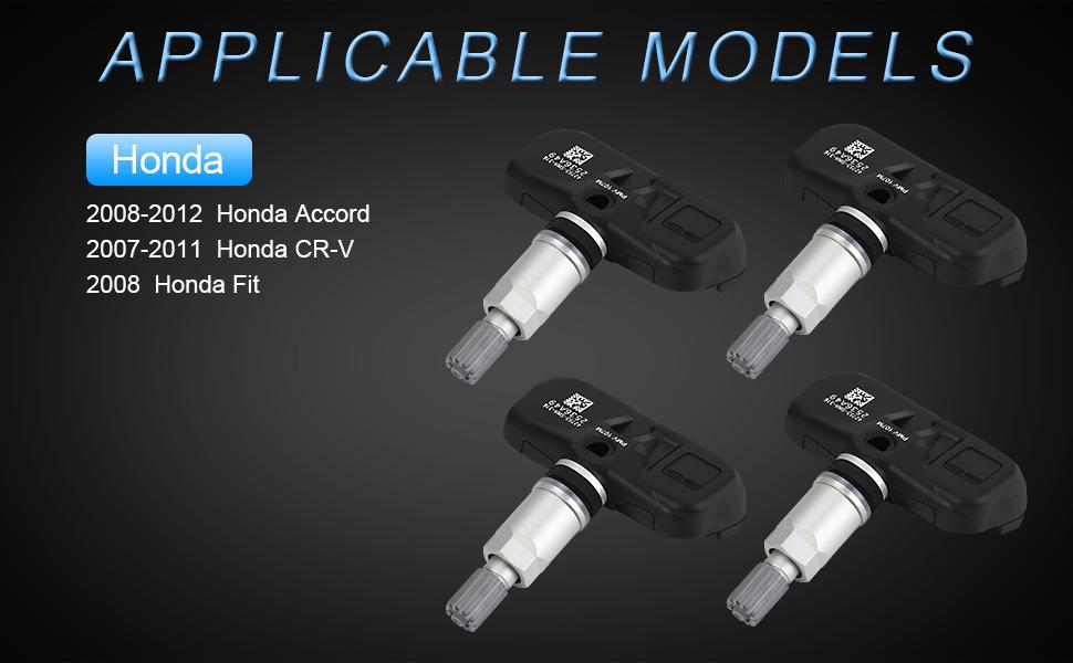 Honda applicable models