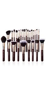 MUA makeup brushes set