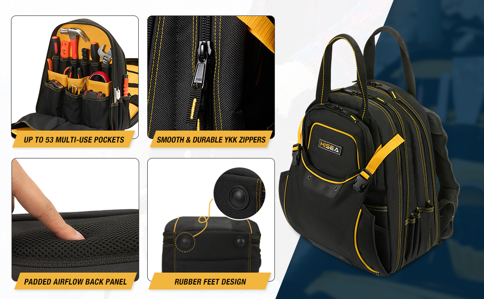 durable tool backpack