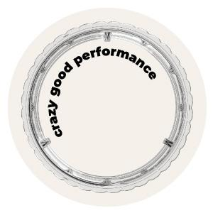 Crazy Good Performance 12 Rib Design