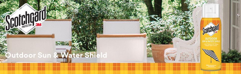 Scotchgard outdoor Sun amp; Water Shield