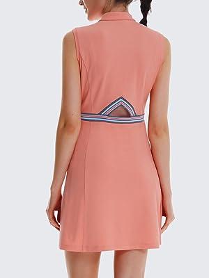 tennis golf active dress for women sleeveless