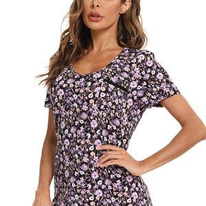 print nightgown