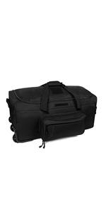 Military Wheeled Deployment Bag