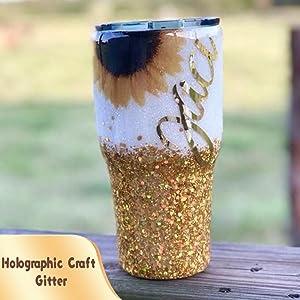 holographic craft glitter