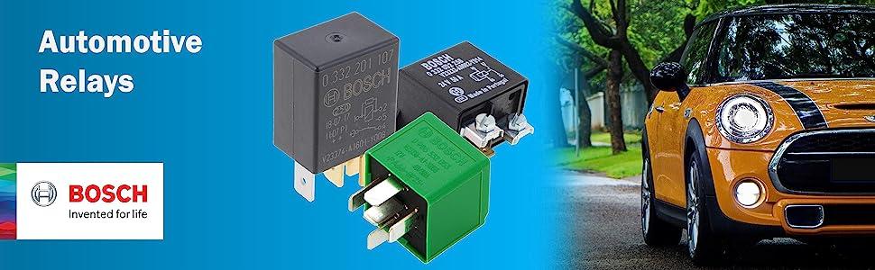 Bosch Automotive Relays - Micro Relays, Mini Relays, Power Relays