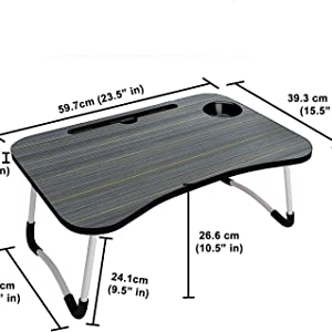 dimension of laptop table