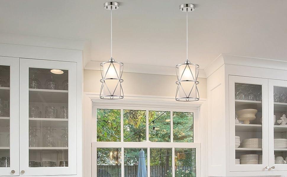 kitchen pendant lighting over sink