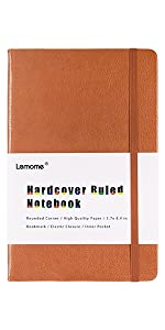 ruled journal hardcover notebook leather notebook writing notebook classic notebook lined journal