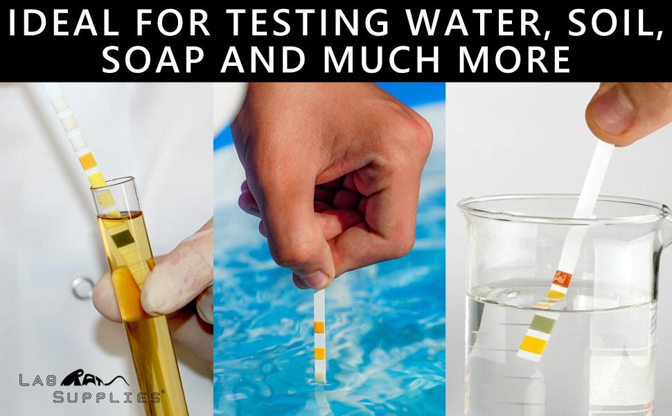 LabRat Supplies pH Test Strips, Universal Application