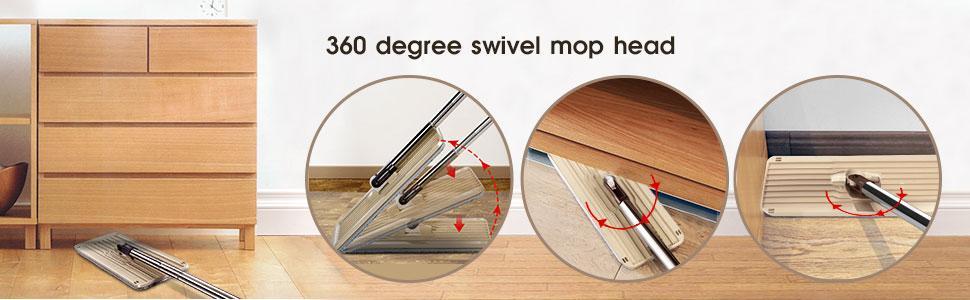 360 degree mop head