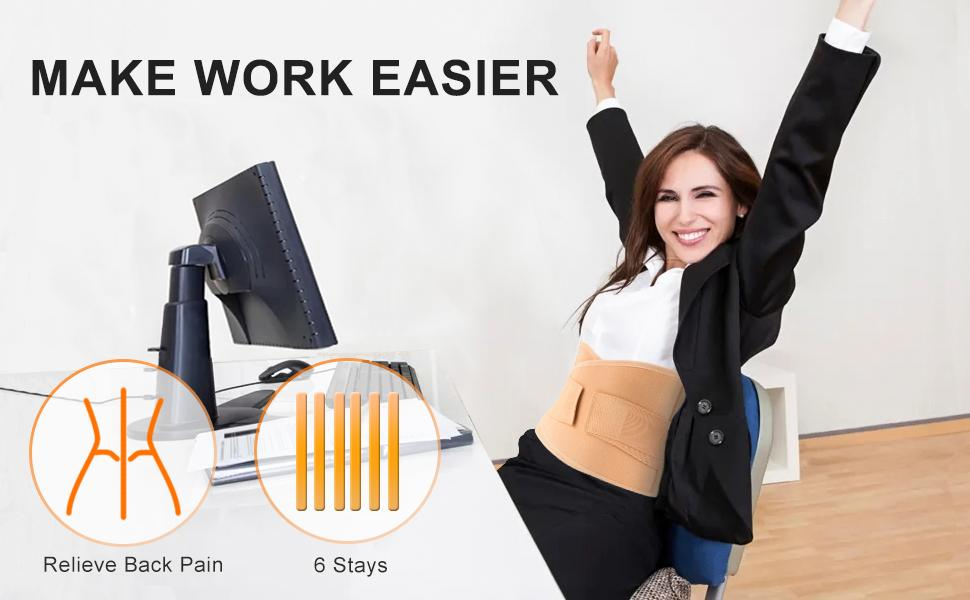 Back Braces for Lower Back Pain Relief