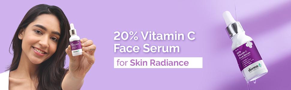 20% Vitamin C Face Serum for Men and Women for Skin Radiance