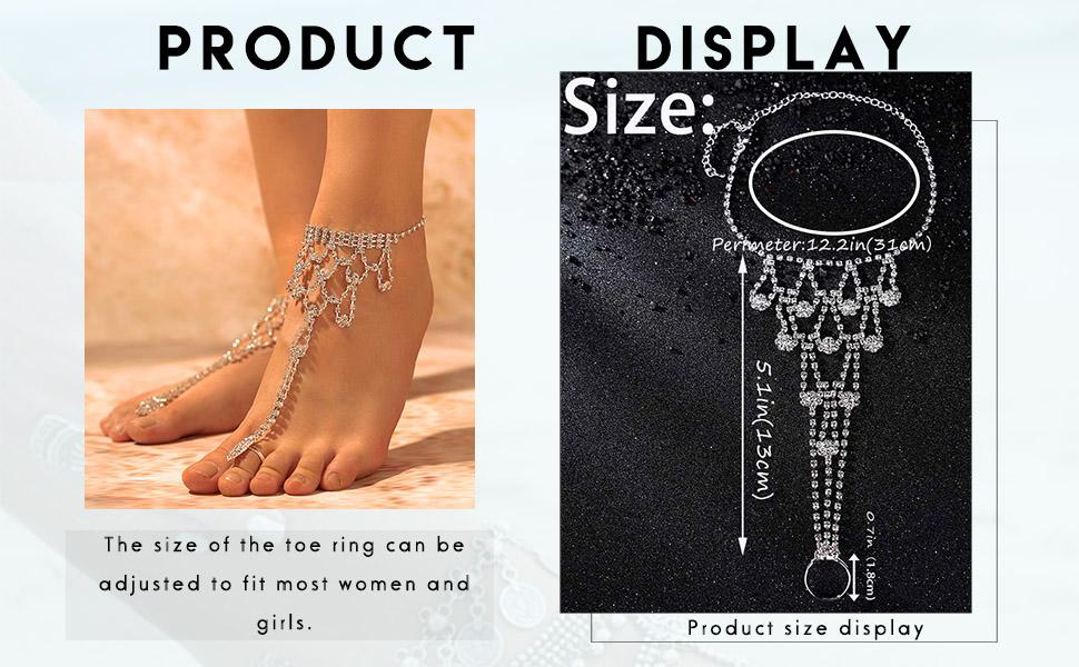 Wedding foot chain