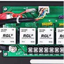 100A relay control box