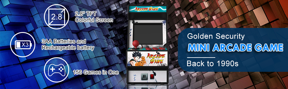 mini arcade game machine