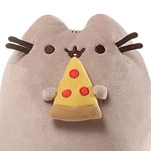 pusheen with pizza