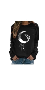 Cute Graphic Blouse Tops for Women