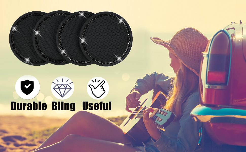 black bling car accessories