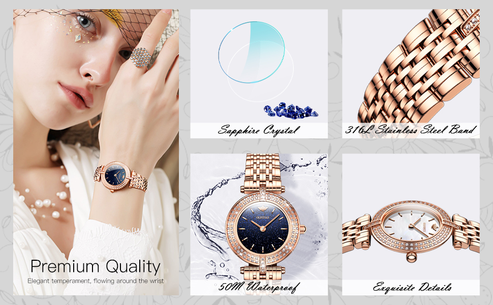 analog quartz watches