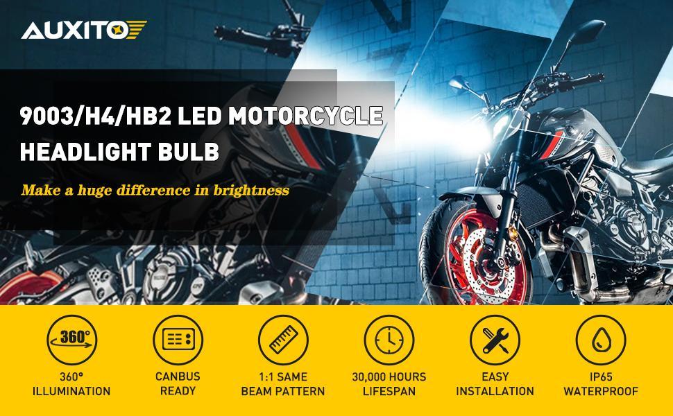 H4 motorcycle headlight bulbs