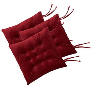 Red Wine chair pads