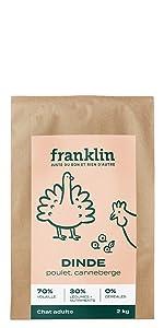 Croquette Franklin Dinde
