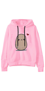 hoodies for women pullover cute pink