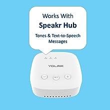 Works With Speakr Hub