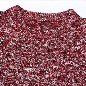 cogild wine red navy dark  round neck  sweater for men