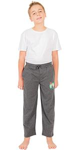 ltra Game NBA Boys Sleepwear Super Soft Pajama Loungewear Pants