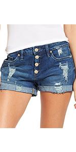 Jean shorts for women stretchy high waist shorts for women summer shorts