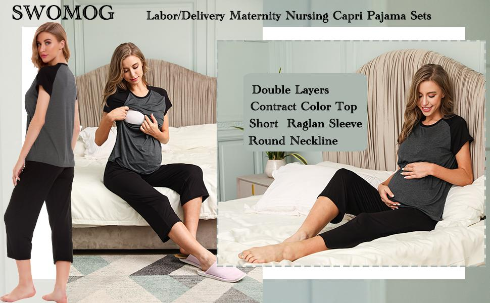 WOMEN NURSING PAJAMA