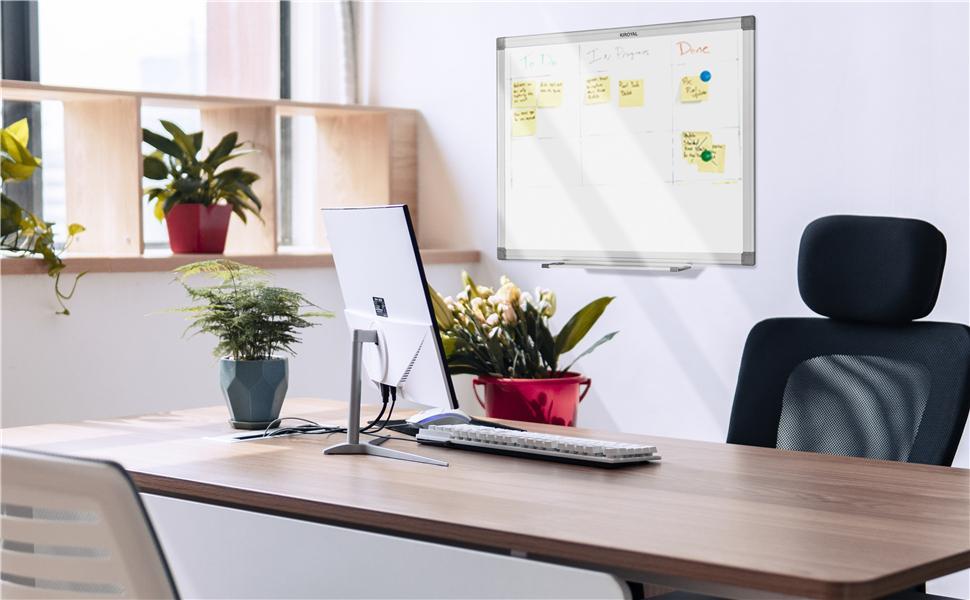 24x18 36x24 Dry Erase Whiteboard Magnetic Whiteboard Office Wallboard