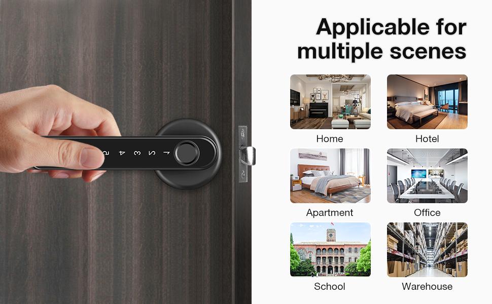 Fingerprint Smart Door Lock
