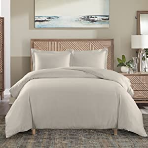 650tc cotton blened duvet cover with matching shams