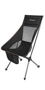 KingCamp Lightweight High Back Camping Chair