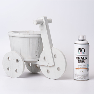Pintyplus Chalk Finish Spray Paint Broken White