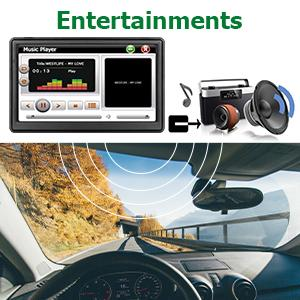 MP3,MP4 and FM function