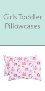 girls toddler pillowcase