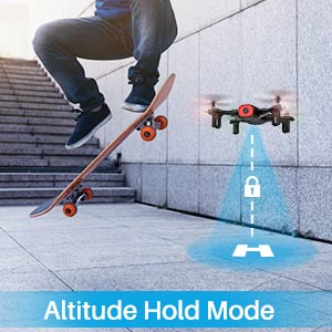 altitude hold mode drone with remote control