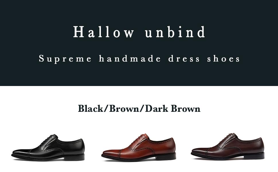Oxford men's dress shoes