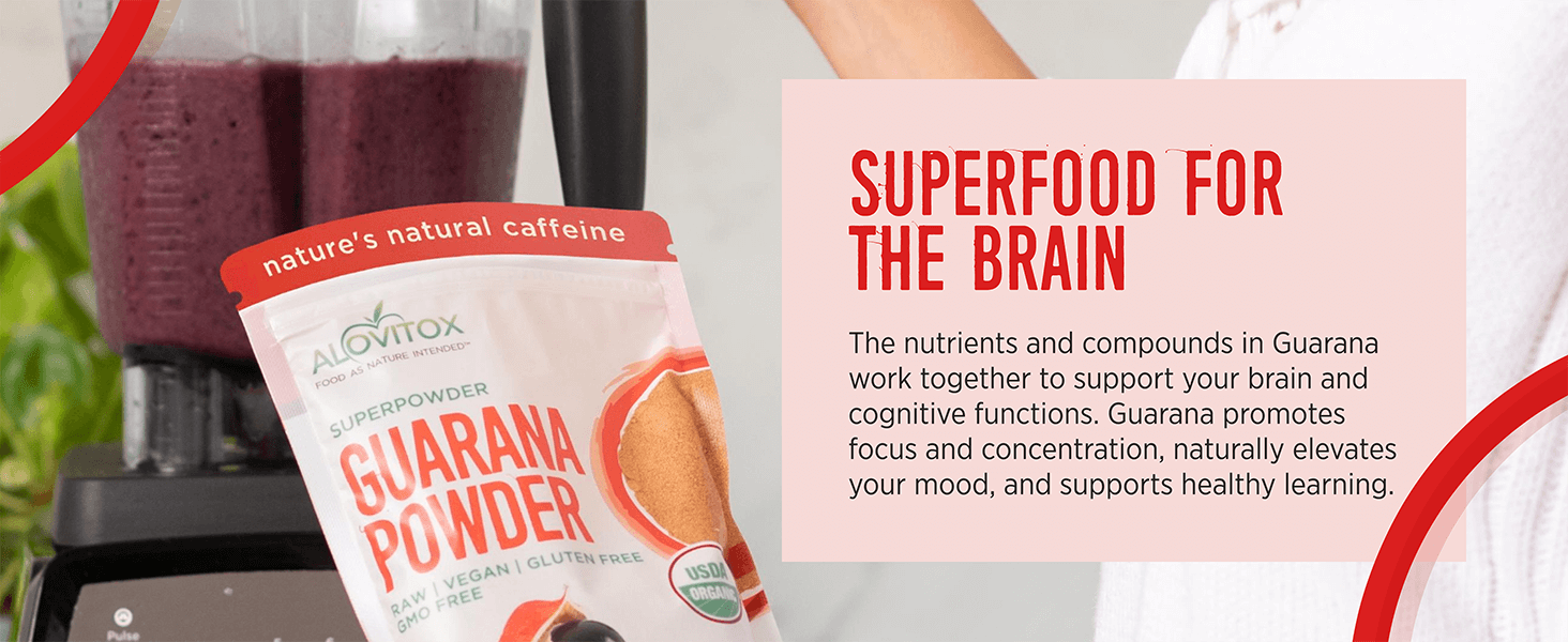 Guarana is a superfood for the brain