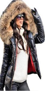 down coat fore women